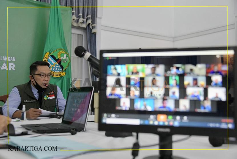 Ridwan Kamil Ajak KNPI Jabar Pastikan Warga Terdampak COVID-19 Dapat Bantuan