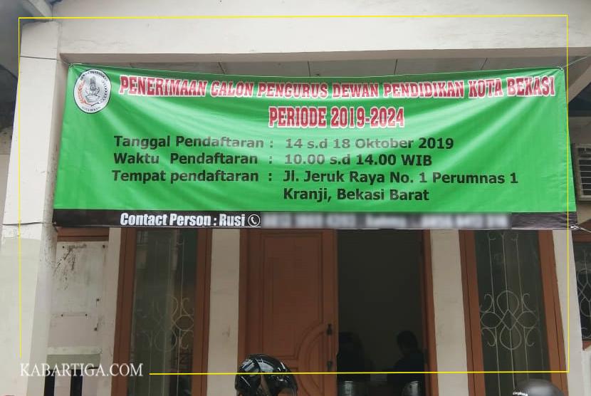 Pansel Dewan Pendidikan Kota Bekasi Diminta Tidak Loloskan Pengurus Lama