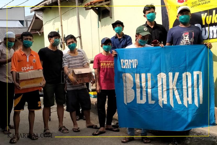 Menginspirasi, Pemuda di Kampung Bulakan Berupaya Putus Rantai Covid-19
