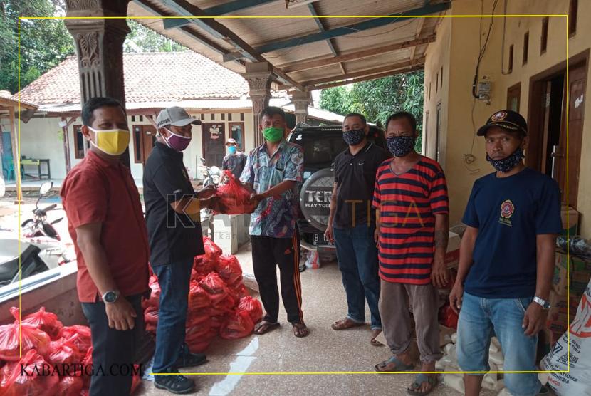 RW 01 Bantargebang Bantu Pemerintah Redam Pandemi Covid-19