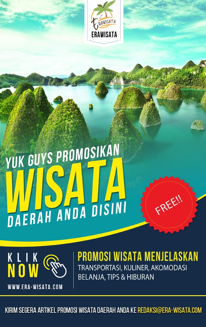 Promosikan tempat wisata Indonesia