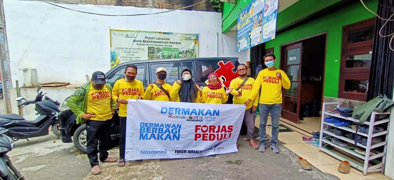 Forjas Peduli Launching Bersamaan Hut Kota Bekasi ke 24