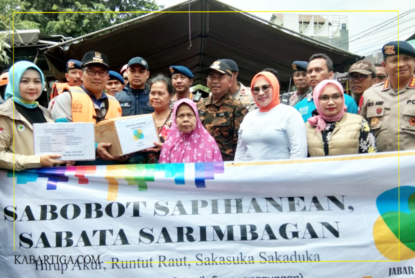 Ridwan Kamil Imbau Warga Tidak Saling Menyalahkan Atas Musibah Banjir Yang Melanda