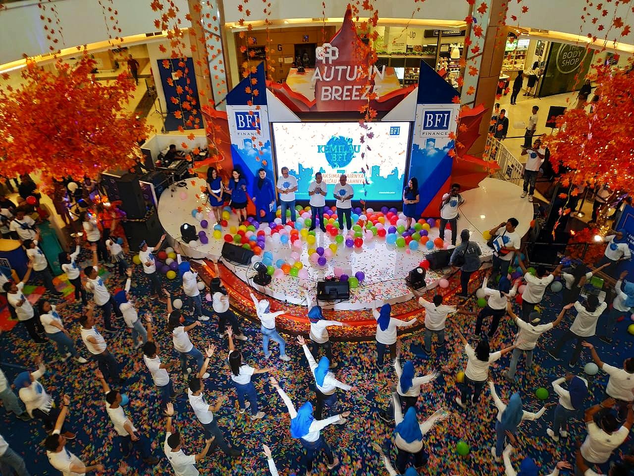 Kemilau BFI di Kota Bekasi Hipnotis Pengunjung Mal Grand Galaxy Park