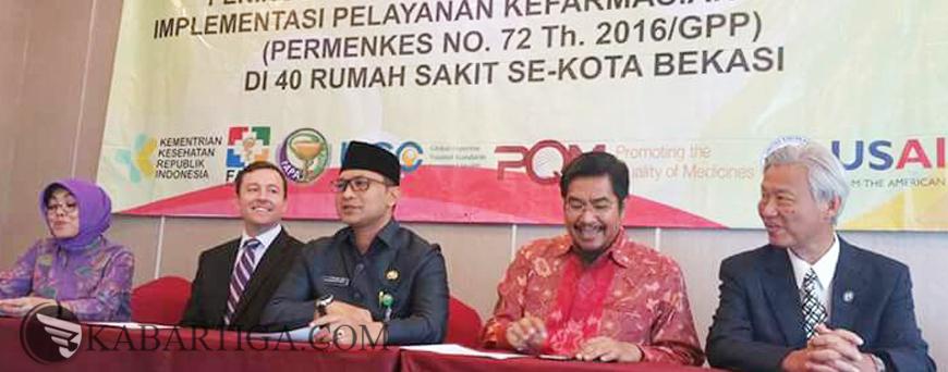 Dinkes Kota Bekasi Implementasikan Permenkes Nomor 72 Tahun 2016