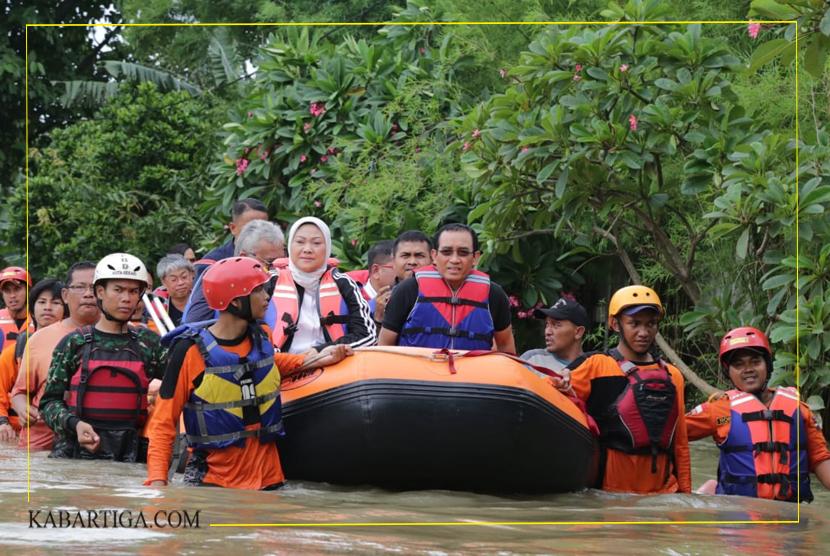 Menaker Ida Fauziyah Bantu Evakuasi Peserta BBPLK Cevest Bekasi