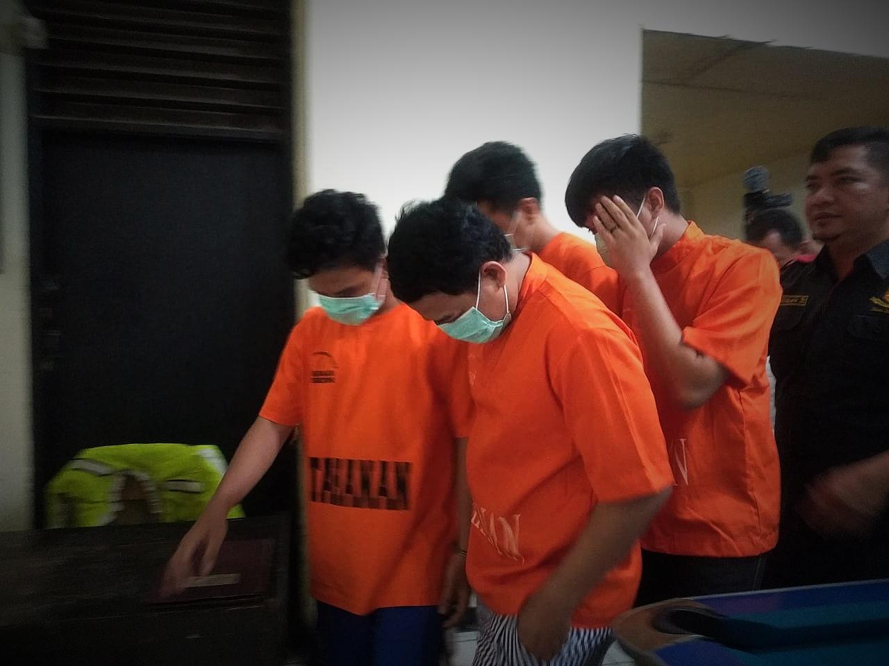 Polsek Bekasi Kota Tahan Empat Karyawan PT FIF Group Cabang Bekasi 2