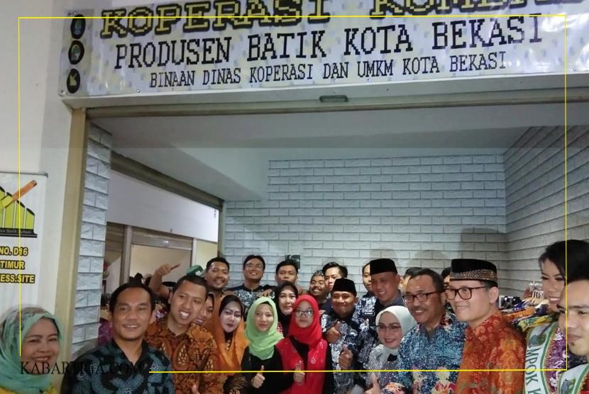 De'Bhagasasi Jadi Pusat Batik di Kota Bekasi