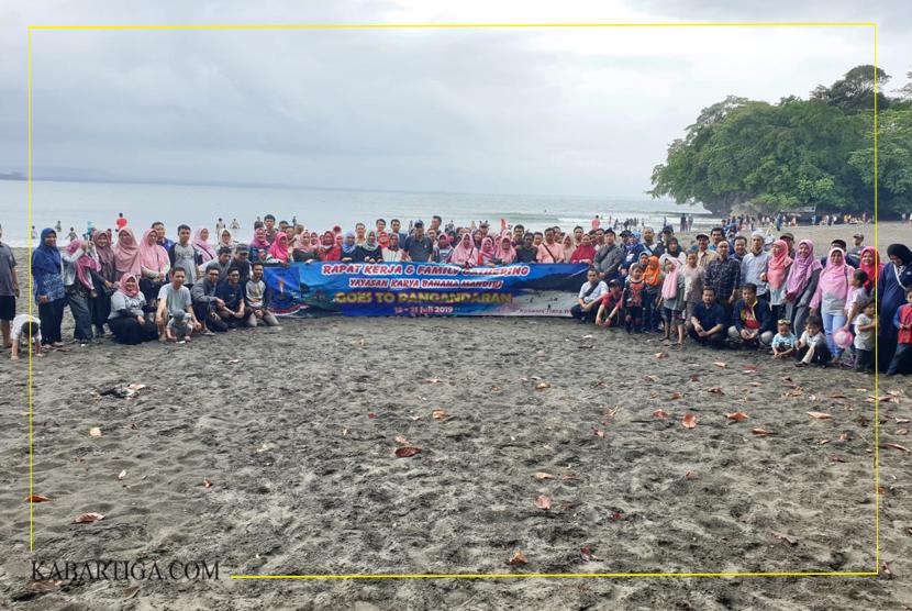 Membangun Soliditas, Yayasan KBM Ajak Pengurus dan Guru Gathering