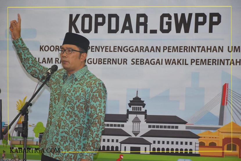 Ridwan Kamil Inginkan Kepala Daerah di Jawa Barat Jalankan Birokrasi Dinamis