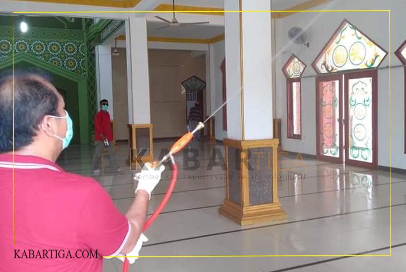 Sukur Nababan: Rumah Ibadah Menjadi Sasaran Penyemprotan Desinfektan