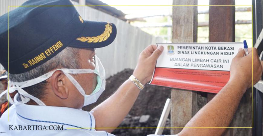 Wali Kota Bekasi Kembali Segel Pabrik di Bantargebang