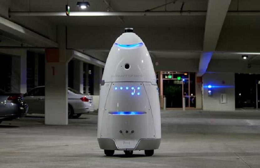 Robot Keamanan Untuk Gantikan Satpol PP